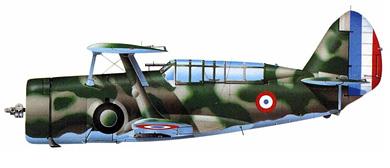 Profil couleur du Curtiss SBC Helldiver