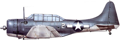 Profil couleur du Douglas SBD Dauntless