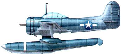 Profil couleur du Curtiss SC Seahawk