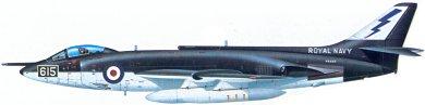 Profil couleur du Supermarine  Scimitar