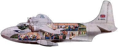 Profil couleur du Short S.45 Seaford