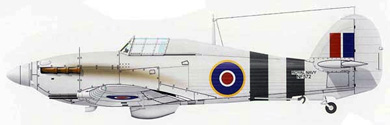 Profil couleur du Hawker Sea Hurricane