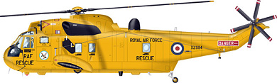 Profil couleur du Westland Sea King