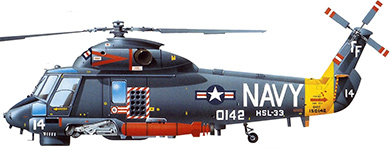 Profil couleur du Kaman SH-2 Seasprite