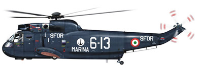Profil couleur du Sikorsky SH-3 Sea King