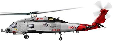 Profil couleur du Sikorsky SH-60 Seahawk