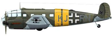 Profil couleur du Siebel Si 204
