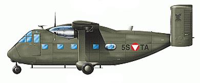 Profil couleur du Short SC.7 Skyvan