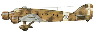 Profil couleur du Savoia-Marchetti SM.81 Pipistrello