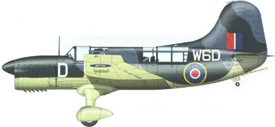Profil couleur du Curtiss SO3C Seamew