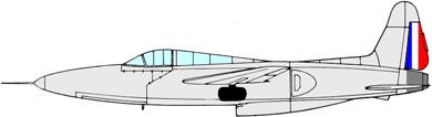 Profil couleur du Sud-Ouest SO.6020 Espadon