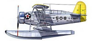 Profil couleur du Curtiss SOC Seagull
