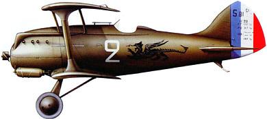 Profil couleur du Blériot-SPAD S.81