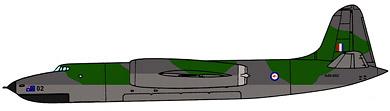 Profil couleur du Short SA.4 Sperrin