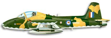 Profil couleur du BAC  Strikemaster
