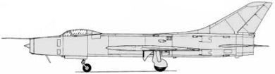 Profil couleur du Sukhoï Su-11  'Fishpot'