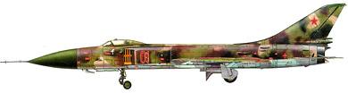 Profil couleur du Sukhoï Su-15  'Flagon'