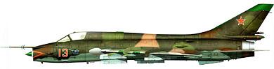Profil couleur du Sukhoï Su-17/20/22  'Fitter'