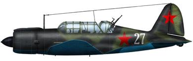 Profil couleur du Sukhoï Su-2