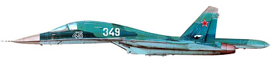 Profil couleur du Sukhoï Su-34  'Fullback'
