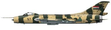 Profil couleur du Sukhoï Su-7  'Fitter'