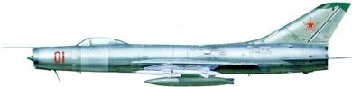 Profil couleur du Sukhoï Su-9  'Fishpot'