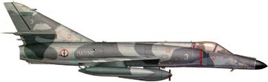 Profil couleur du Dassault  Super-Etendard