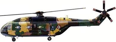 Profil couleur du Aérospatiale SA.321 Super Frelon