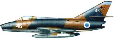 Profil couleur du Dassault  Super Mystère B.2