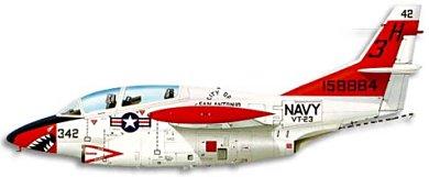 Profil couleur du North American T-2 Buckeye