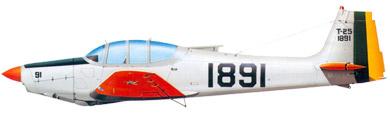 Profil couleur du Neiva T-25 Universal