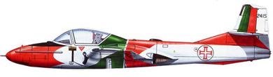 Profil couleur du Cessna T-37 Tweet