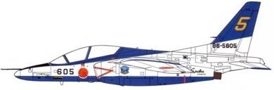 Profil couleur du Kawasaki T-4