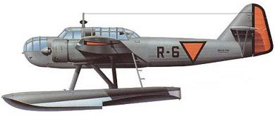 Profil couleur du Fokker T.VIII-W