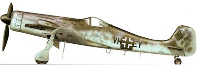 Profil couleur du Focke-Wulf Ta-152