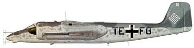 Profil couleur du Focke-Wulf Ta 154 Moskito