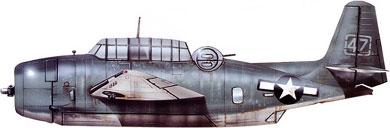 Profil couleur du Grumman TBF/TBM Avenger