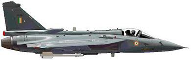 Profil couleur du HAL Tejas