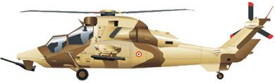 Profil couleur du Eurocopter EC-665 Tigre