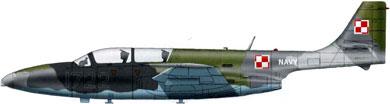 Profil couleur du P.Z.L. TS-11 Iskra