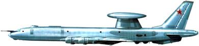 Profil couleur du Tupolev Tu-126  'Moss'