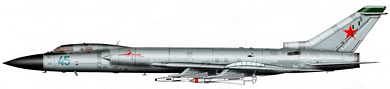 Profil couleur du Tupolev Tu-28/Tu-128  'Fiddler'