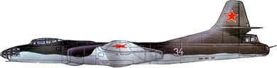Profil couleur du Tupolev Tu-14/Tu-73  'Bosun'
