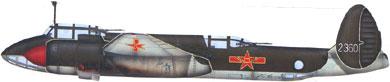 Profil couleur du Tupolev Tu-2  'Bat'