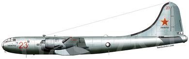 Profil couleur du Tupolev Tu-4  'Bull'