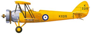 Profil couleur du Avro Tutor & Sea Tutor