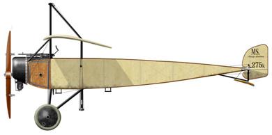 Profil couleur du Morane-Saulnier Type-L