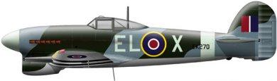 Profil couleur du Hawker  Typhoon