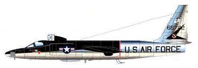 Profil couleur du Lockheed U-2