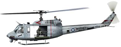 Profil couleur du Bell UH-1N Twin Huey / UH-1Y Venom